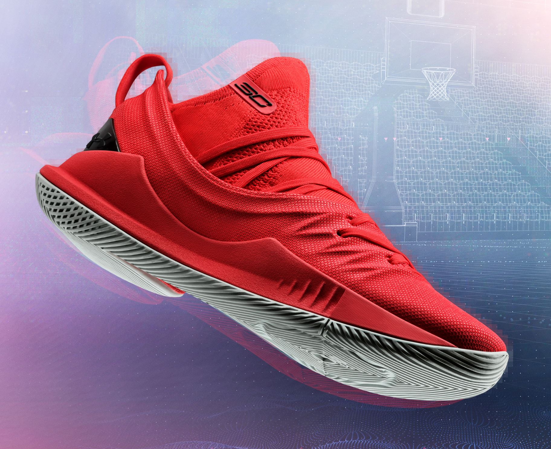 curry 5 red