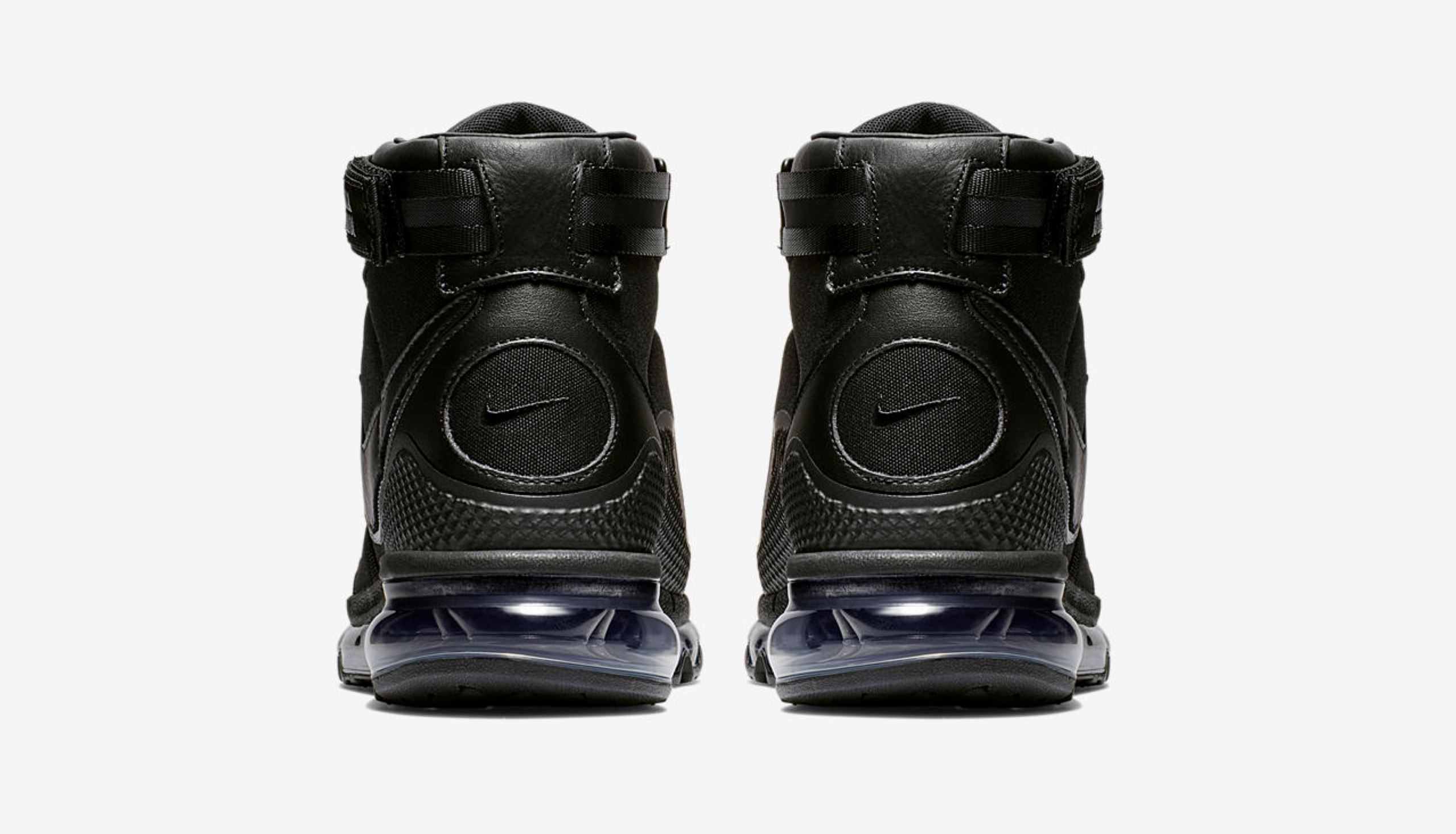 kim jones air max 360 high KJ black