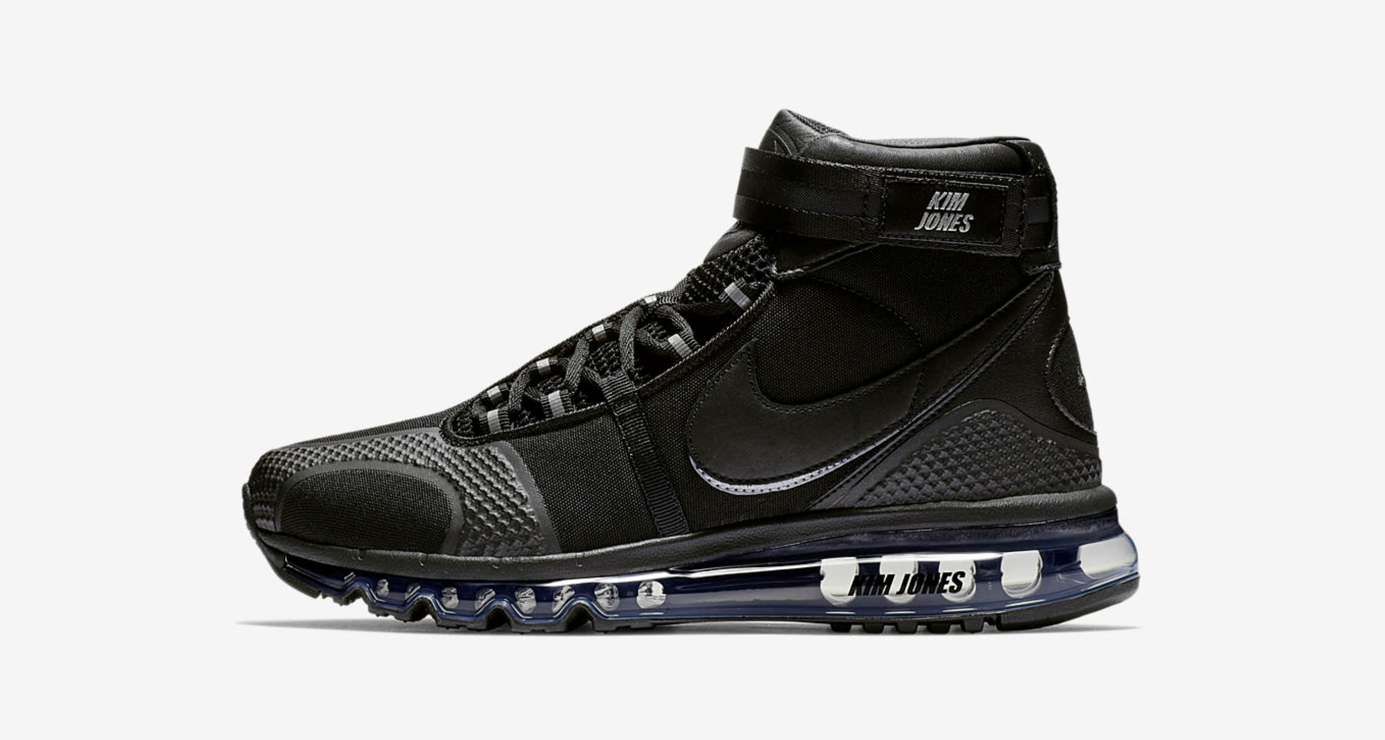 kim jones air max 360 high KJ black release date