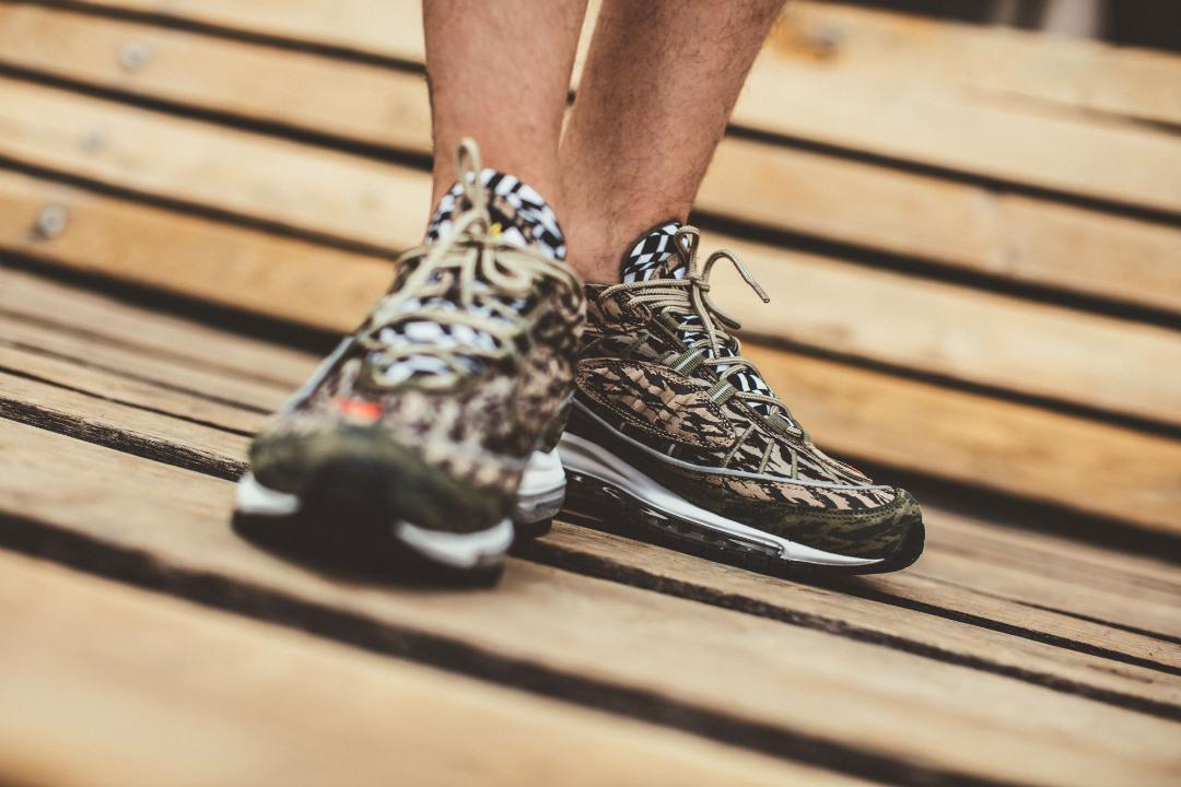 On Foot Look At The Nike Air Max 98 Aop Camo Weartesters