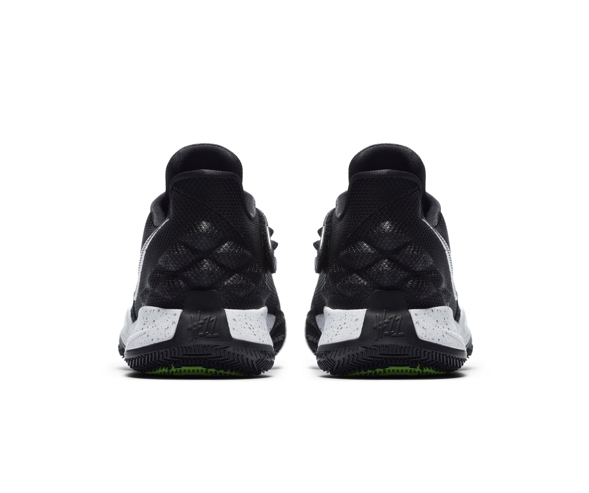 wholesale dealer f0b4d 79eec The Nike Kyrie 4 Low is Clean in Black and White - WearTesters