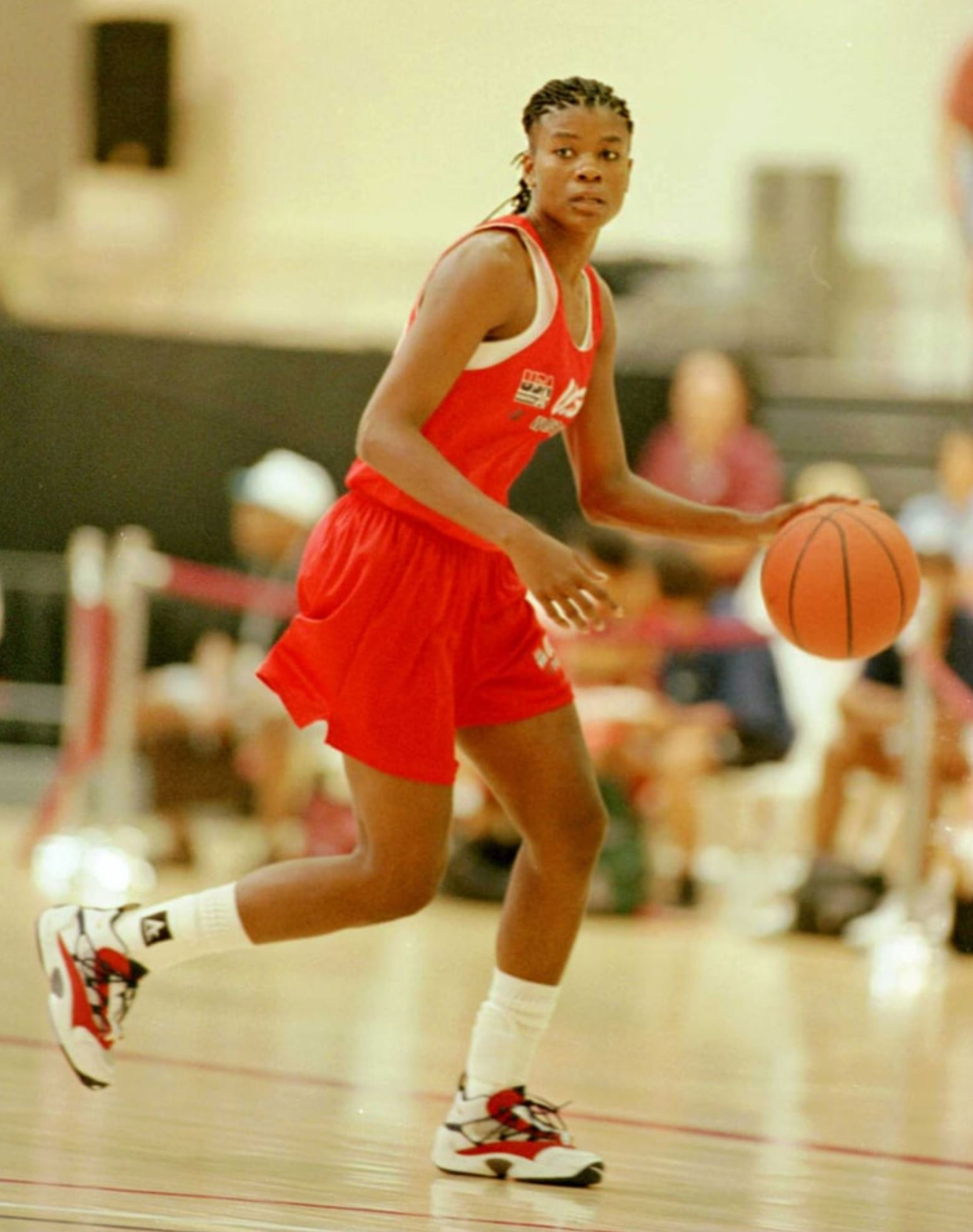 sheryl swoopes 1996 Andy Lyons/Getty
