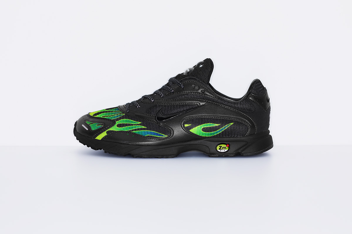 supreme nike air streak spectrum plus green