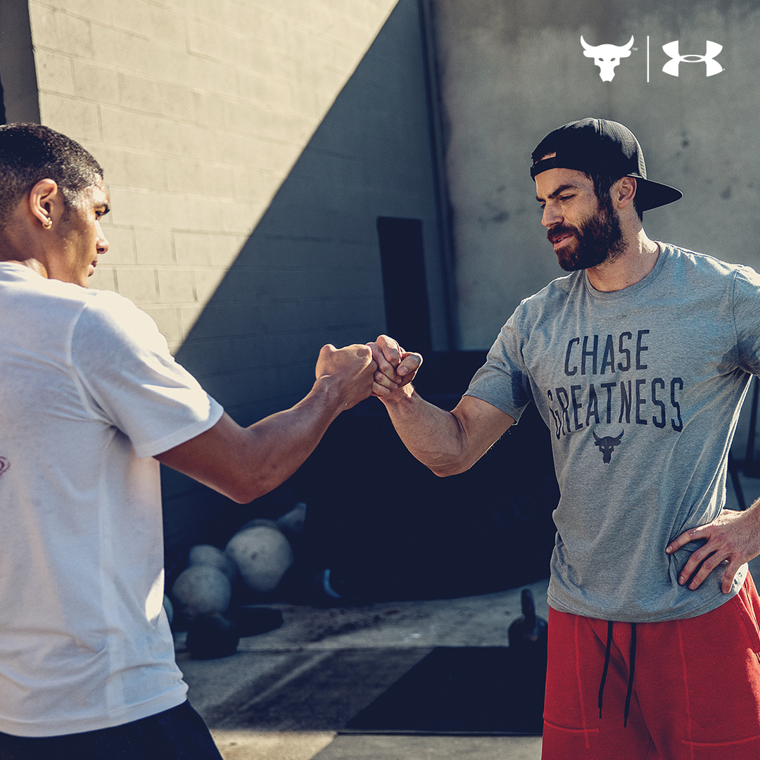 under armour Project Rock Chase Greatness apparel 2