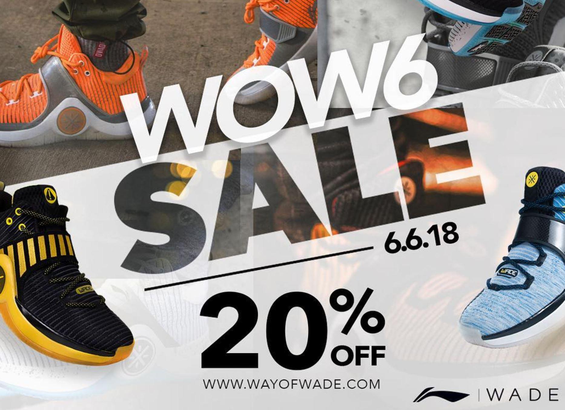 way of wade 6 sale