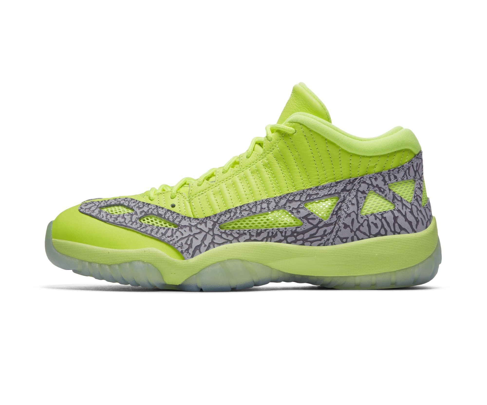 Air Jordan 11 Low IE Volt 3