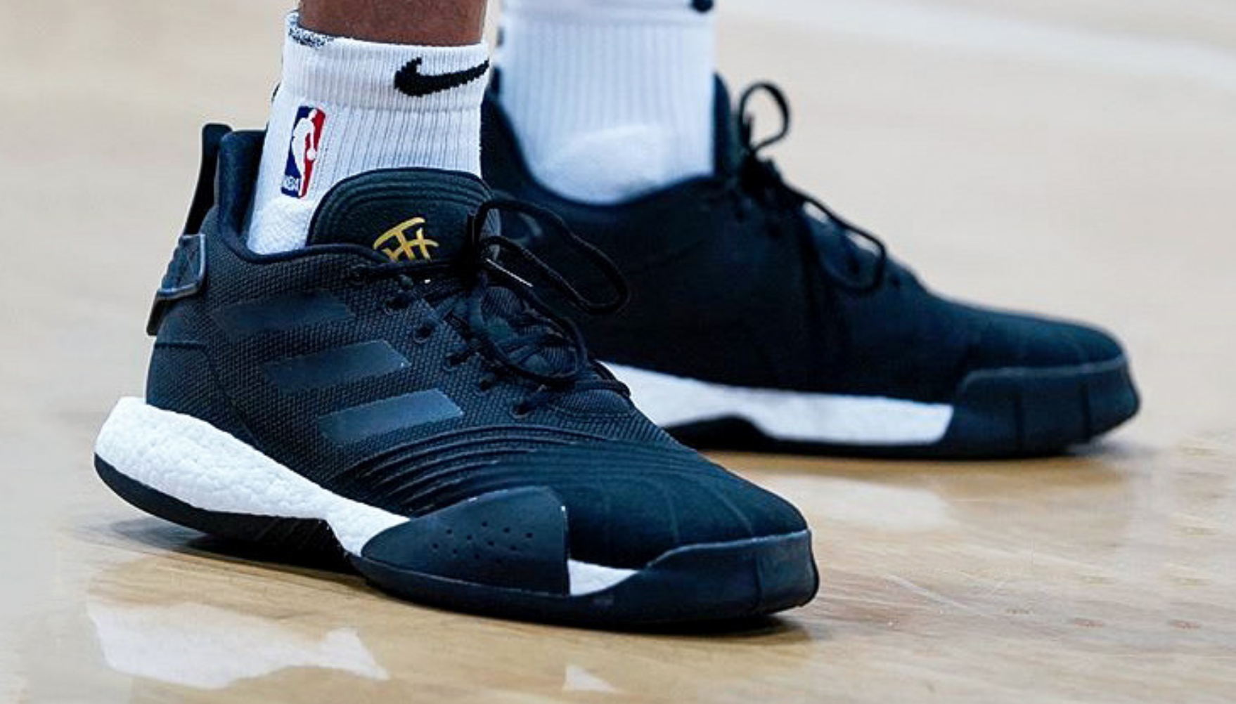 Kelly Oubre Jr Seen in Unreleased adidas T-Mac Millennium Boost