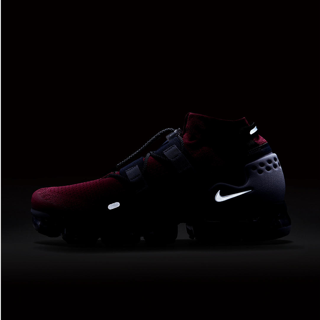 NIKE AIR VAPORMAX FLYKNIT UTILITY TEAM RED:BLACK:OBSIDIAN:ASHEN SLATE 4