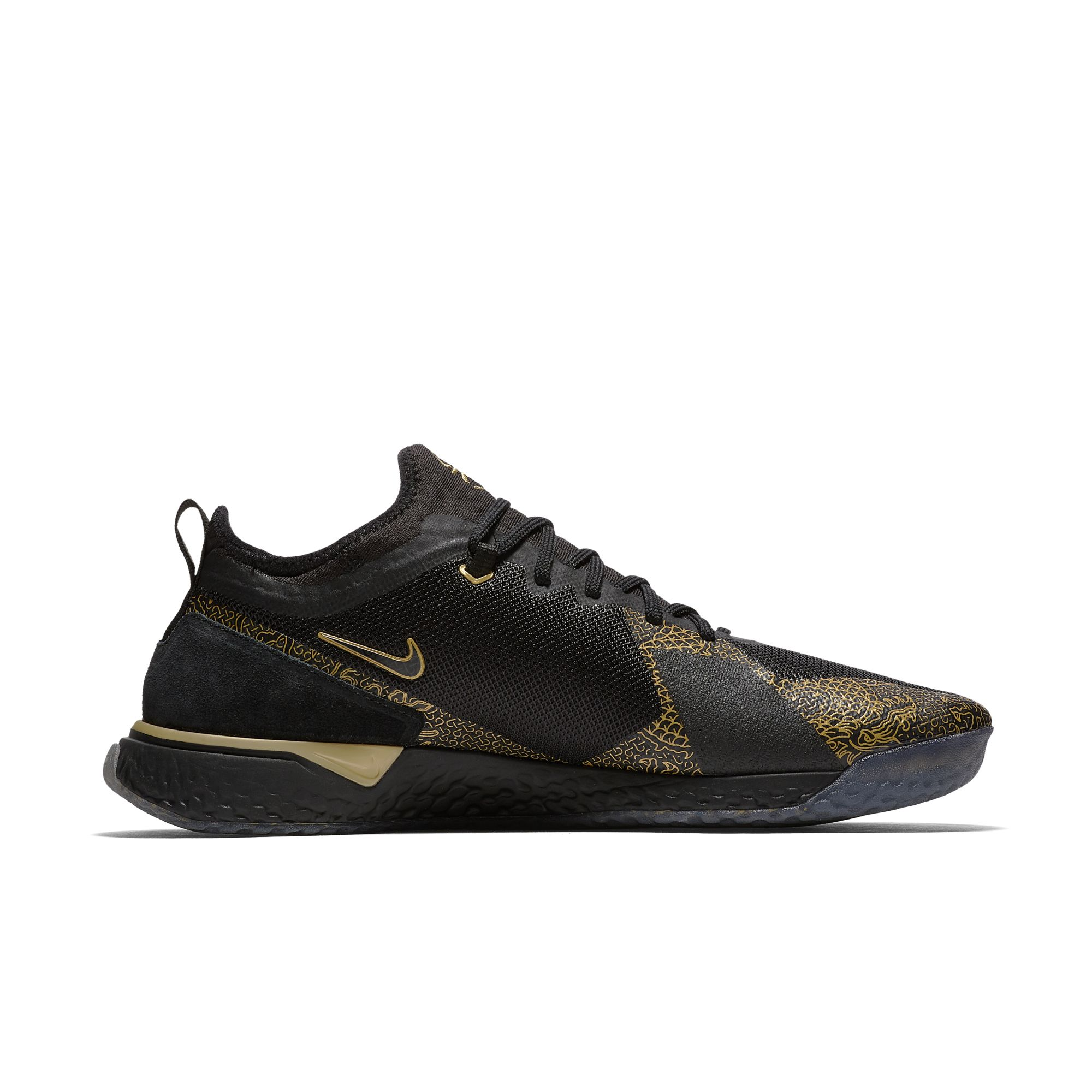 NIKE FC CR7 BLACK:METALLIC GOLD:BLACK 5