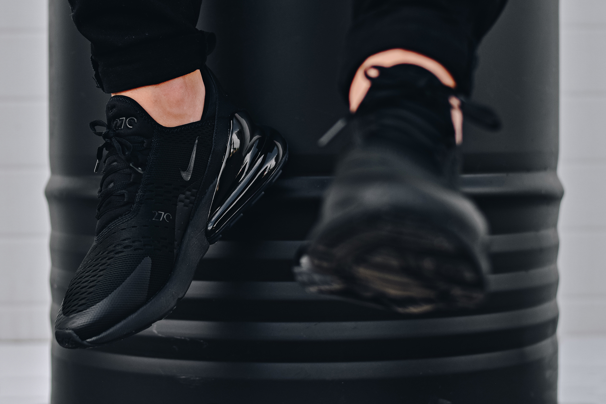 The Nike Air Max 270 Triple Black Is Available Now Weartesters