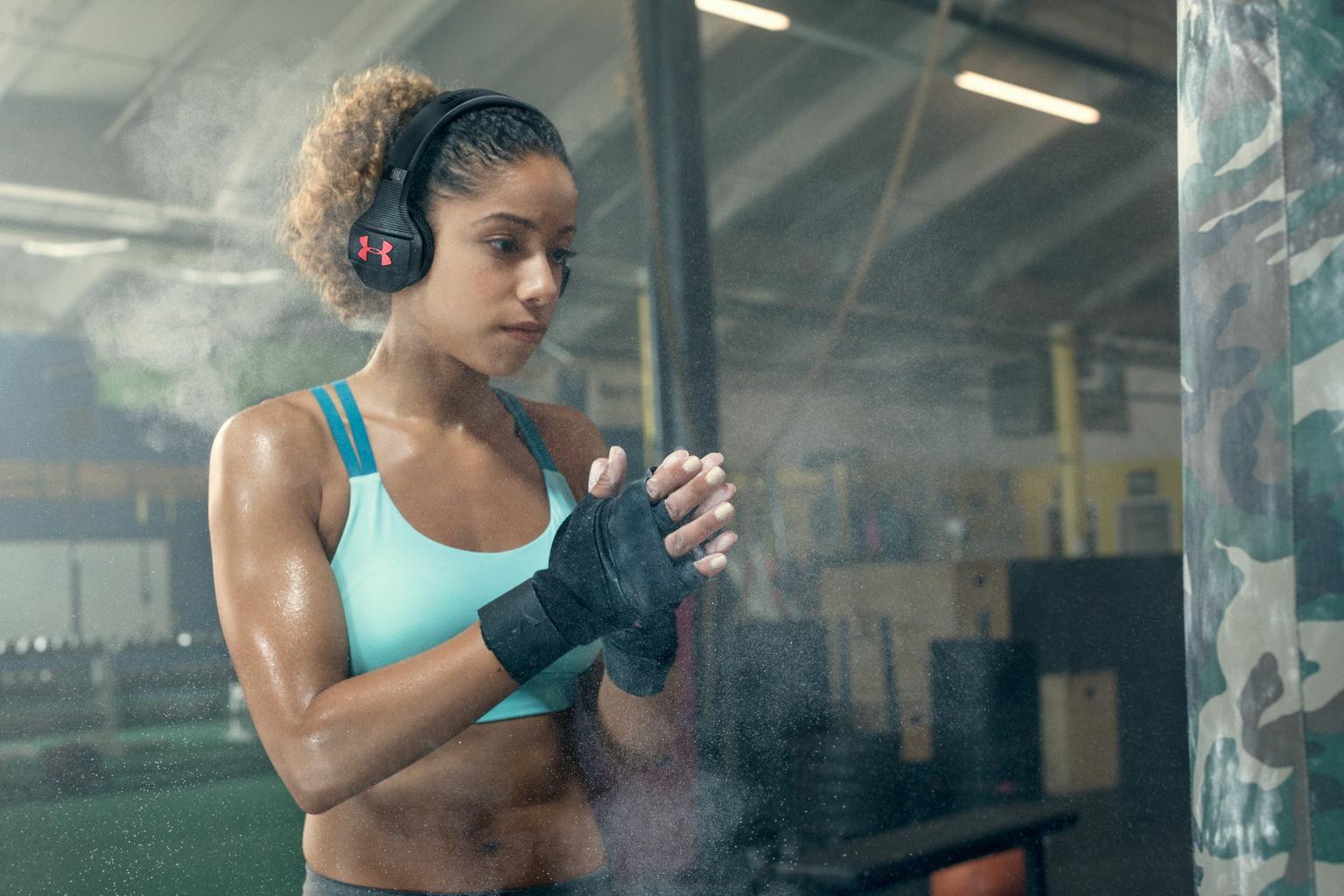 JBL UA sport wireless train headphones 2