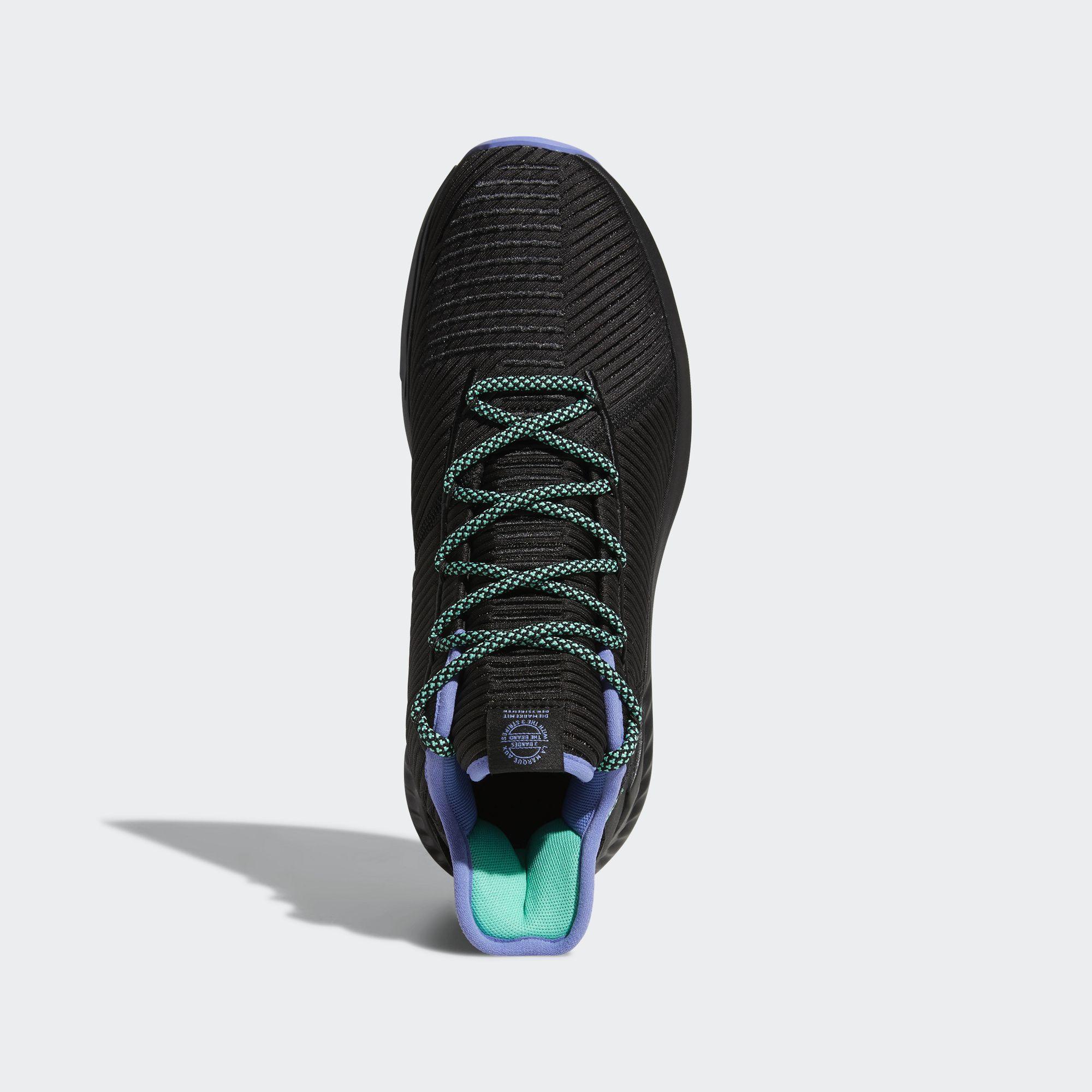 adidas d rose 9 black green top