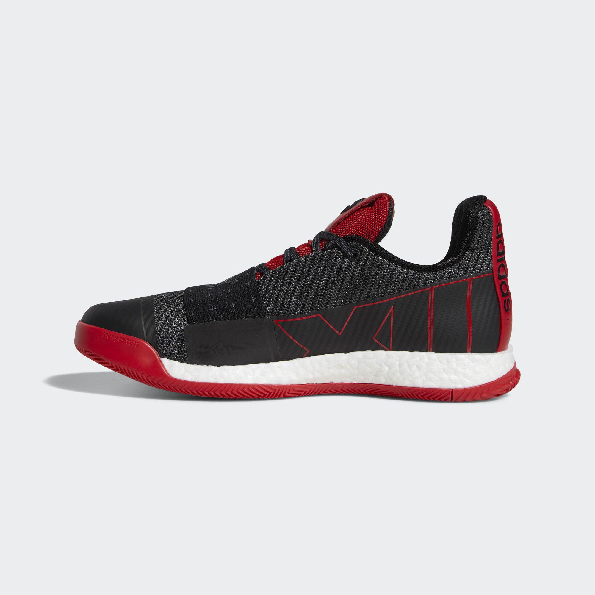 adidas harden vol 3 black red 1