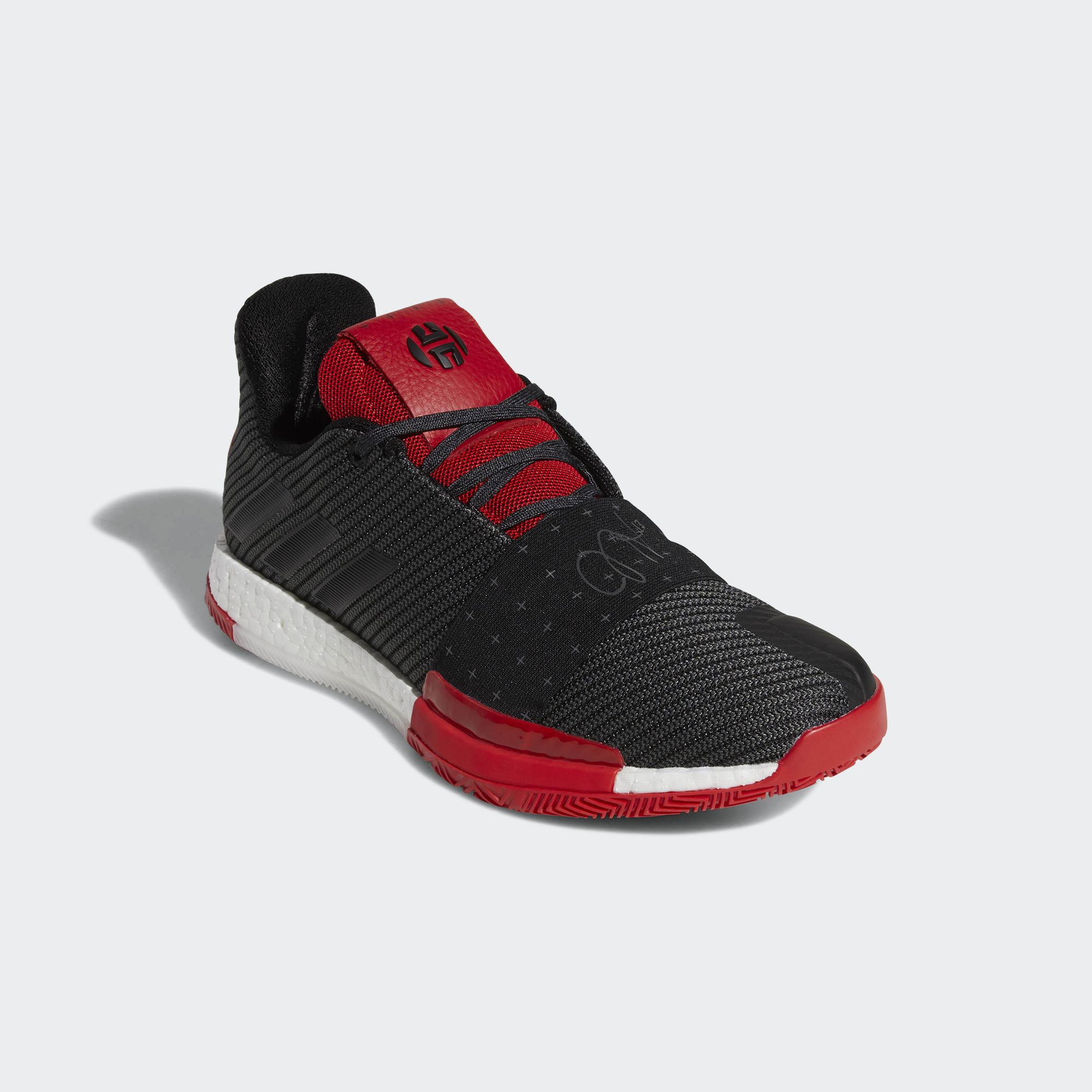 adidas harden vol 3 black red 3