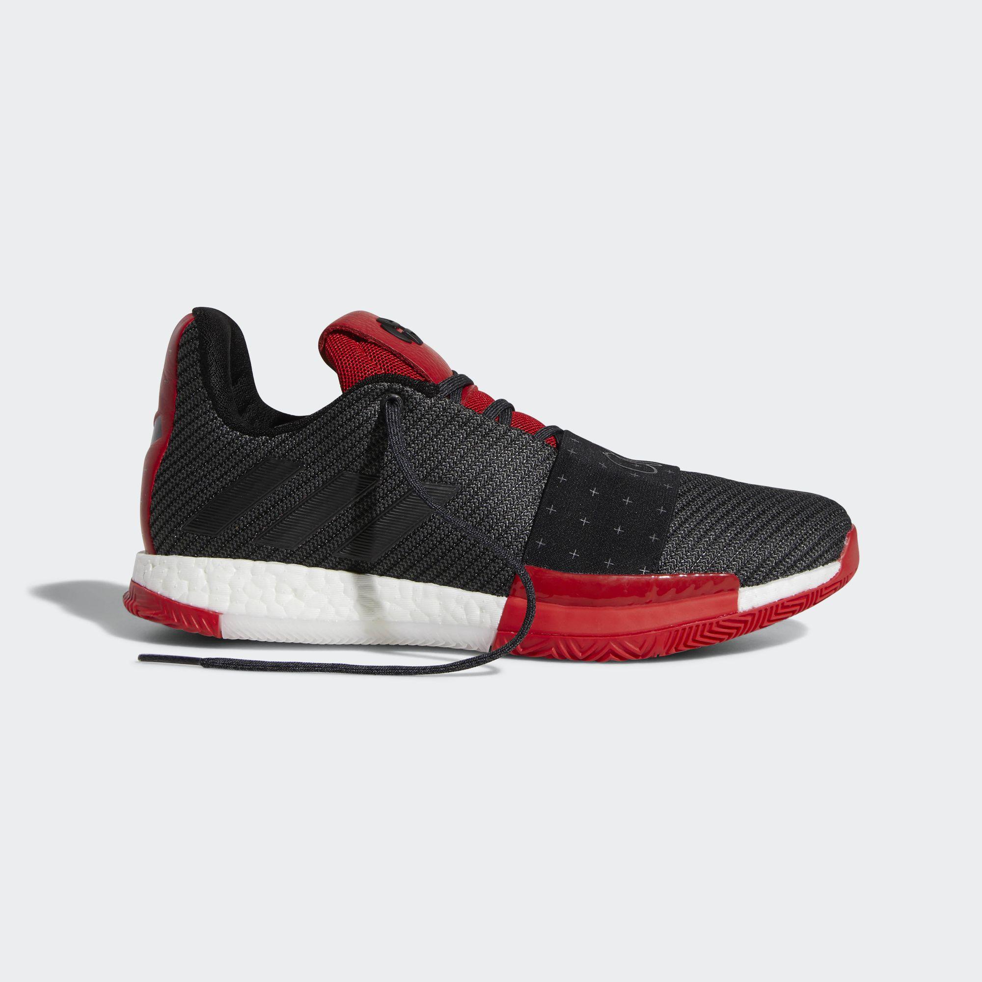 adidas harden vol 3 black red