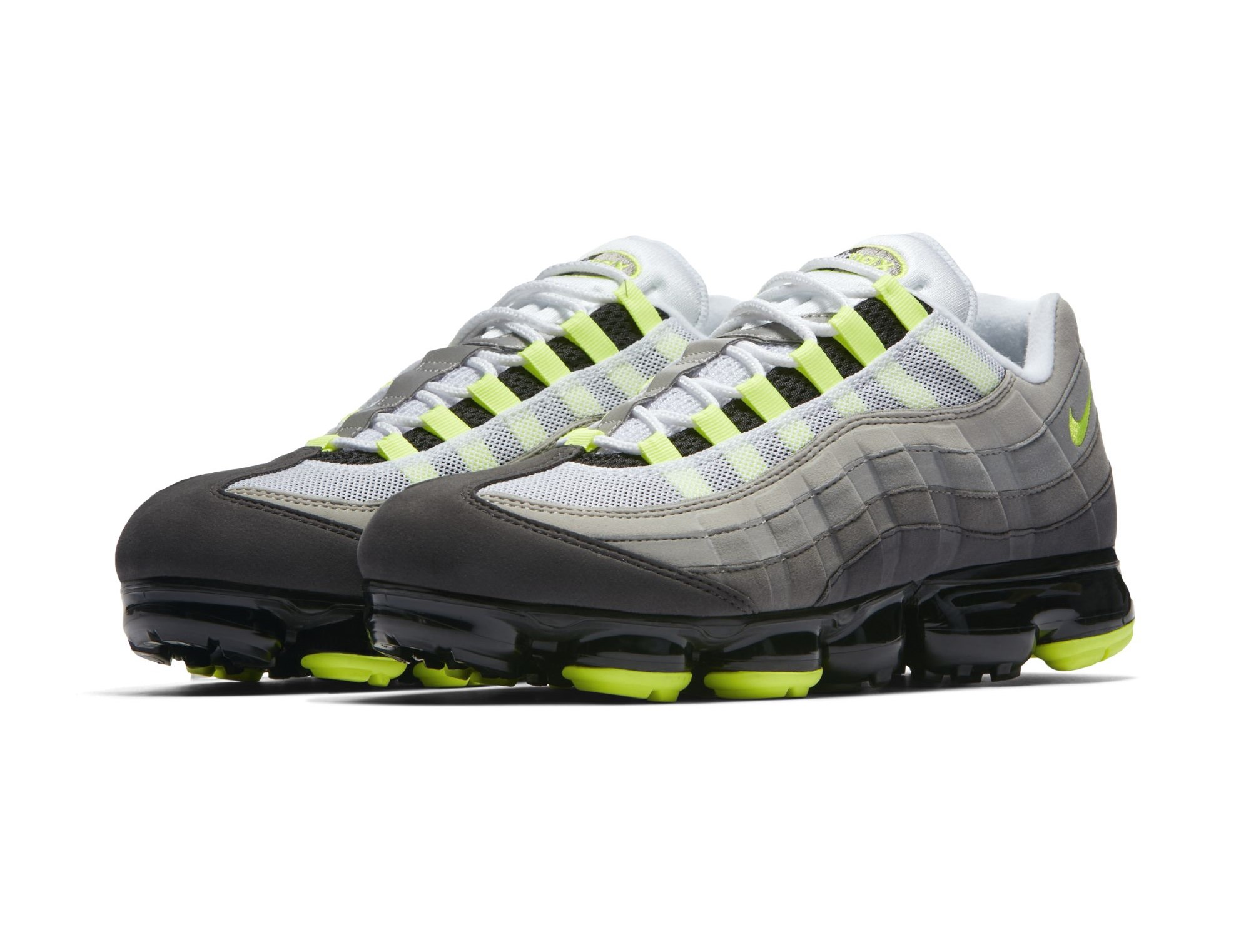 The Air Max 95 'Neon' Has Been VaporMaxed - WearTesters