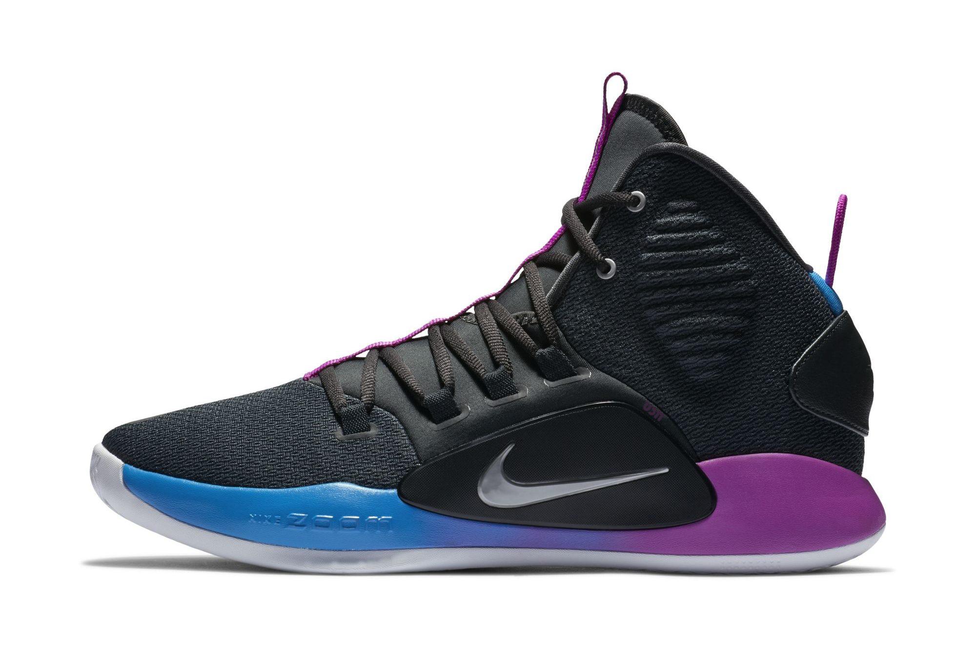 nike hyperdunk x purple