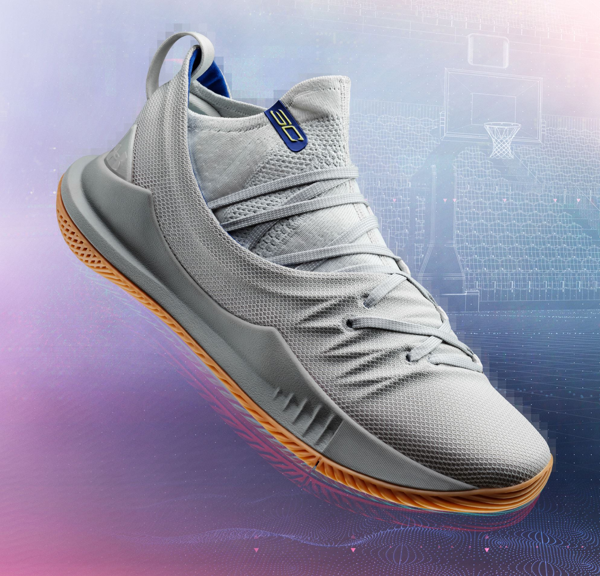 under armour curry 5 grey gum release date