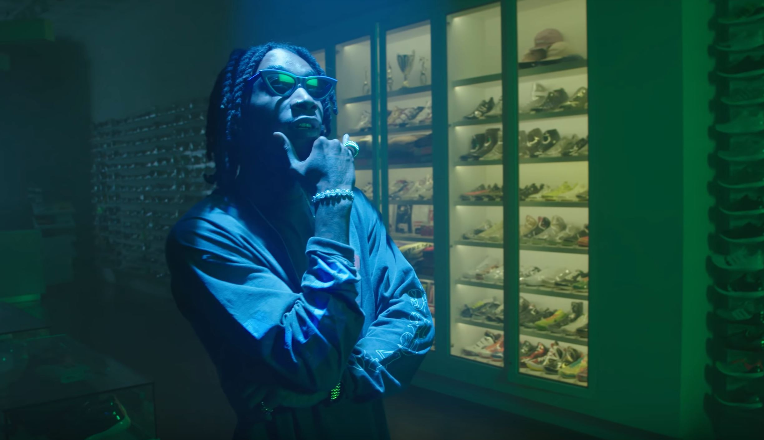wiz khalifa sneaker shopping