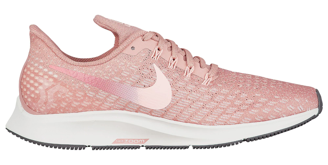 womens nike air zoom pegasus 35 rust pink