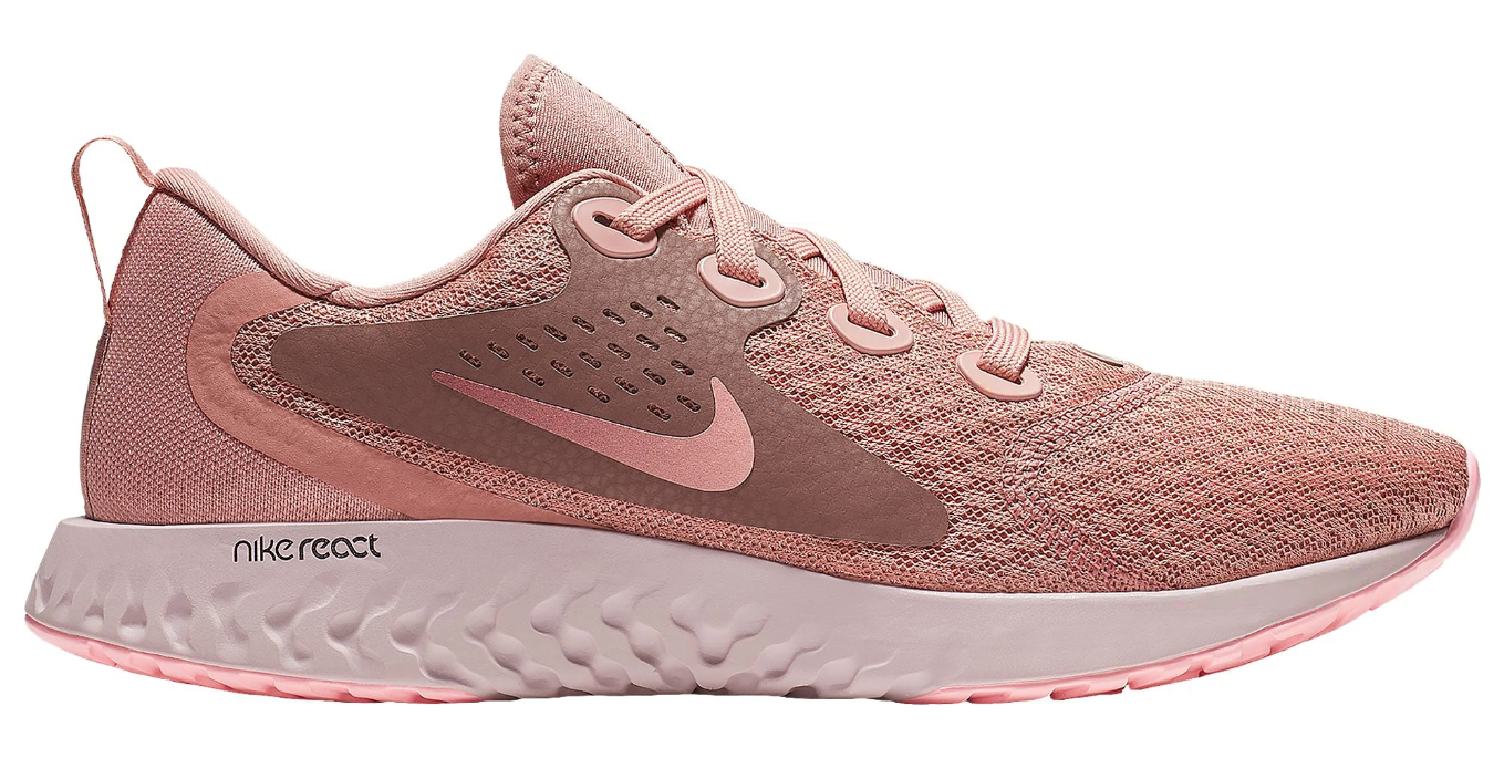 womens nike legend react rust pink
