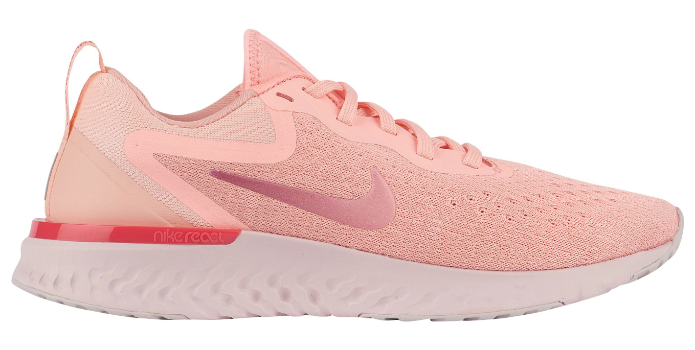 womens nike odyssey react rust pink