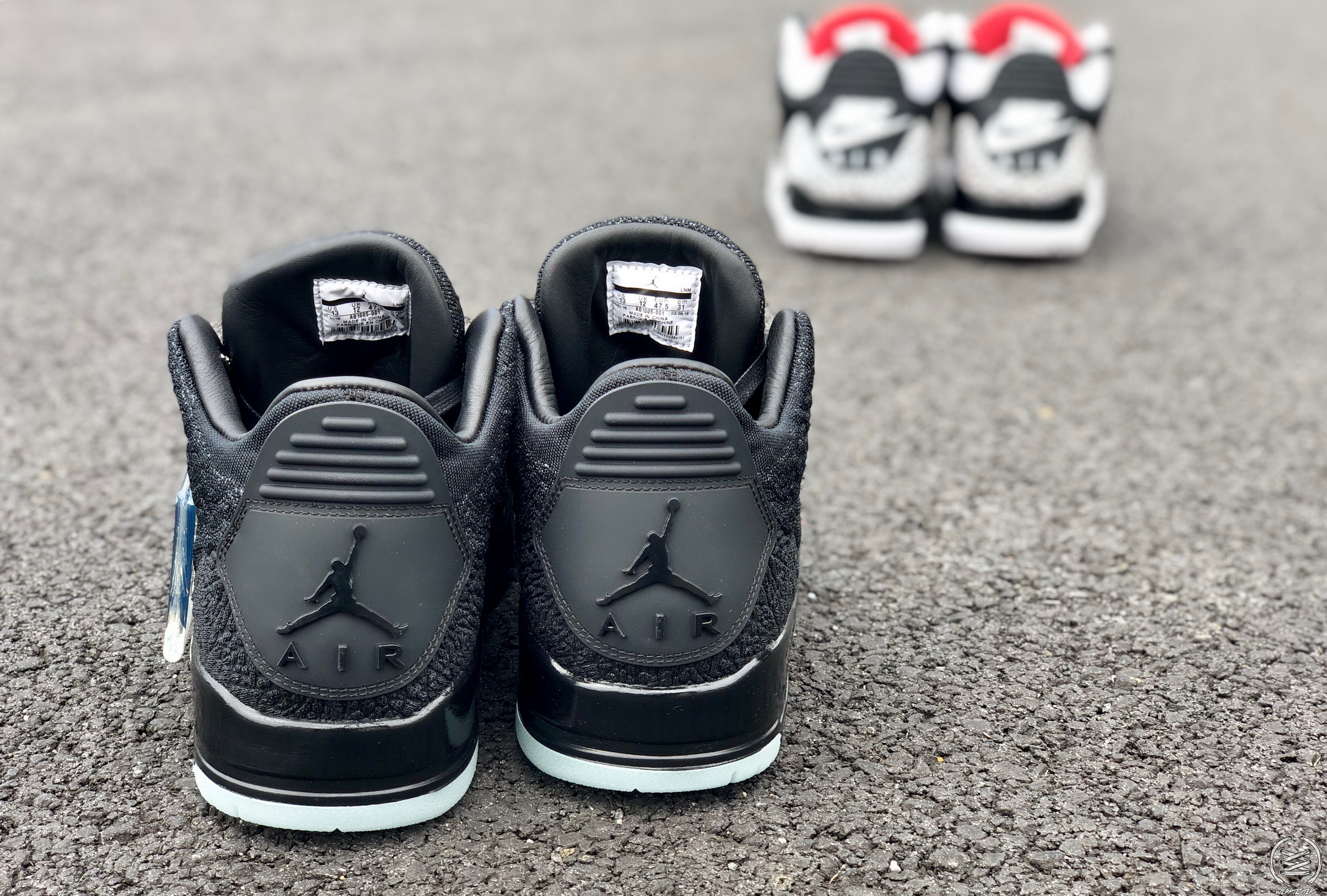 Air Jordan 3 Flyknit detailed look stanley t weartesters heel