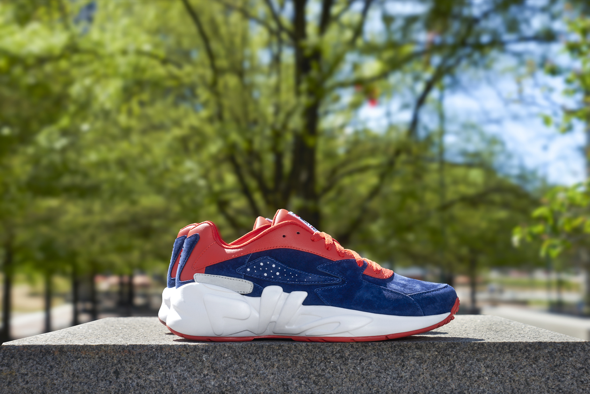 Fila mindblower red navy 1