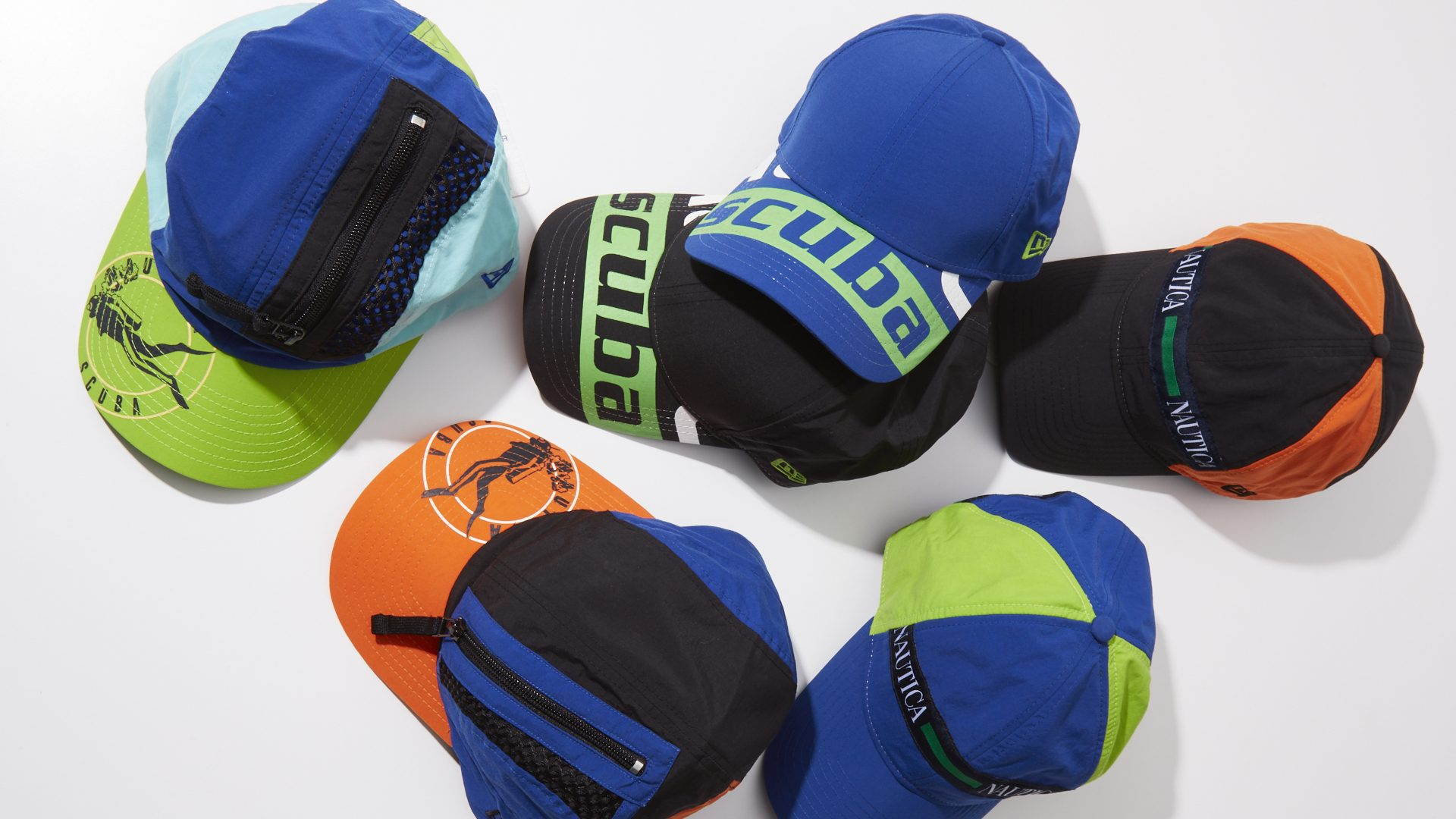 NEW ERA NAUTICA SCUBA COLLECTION 1