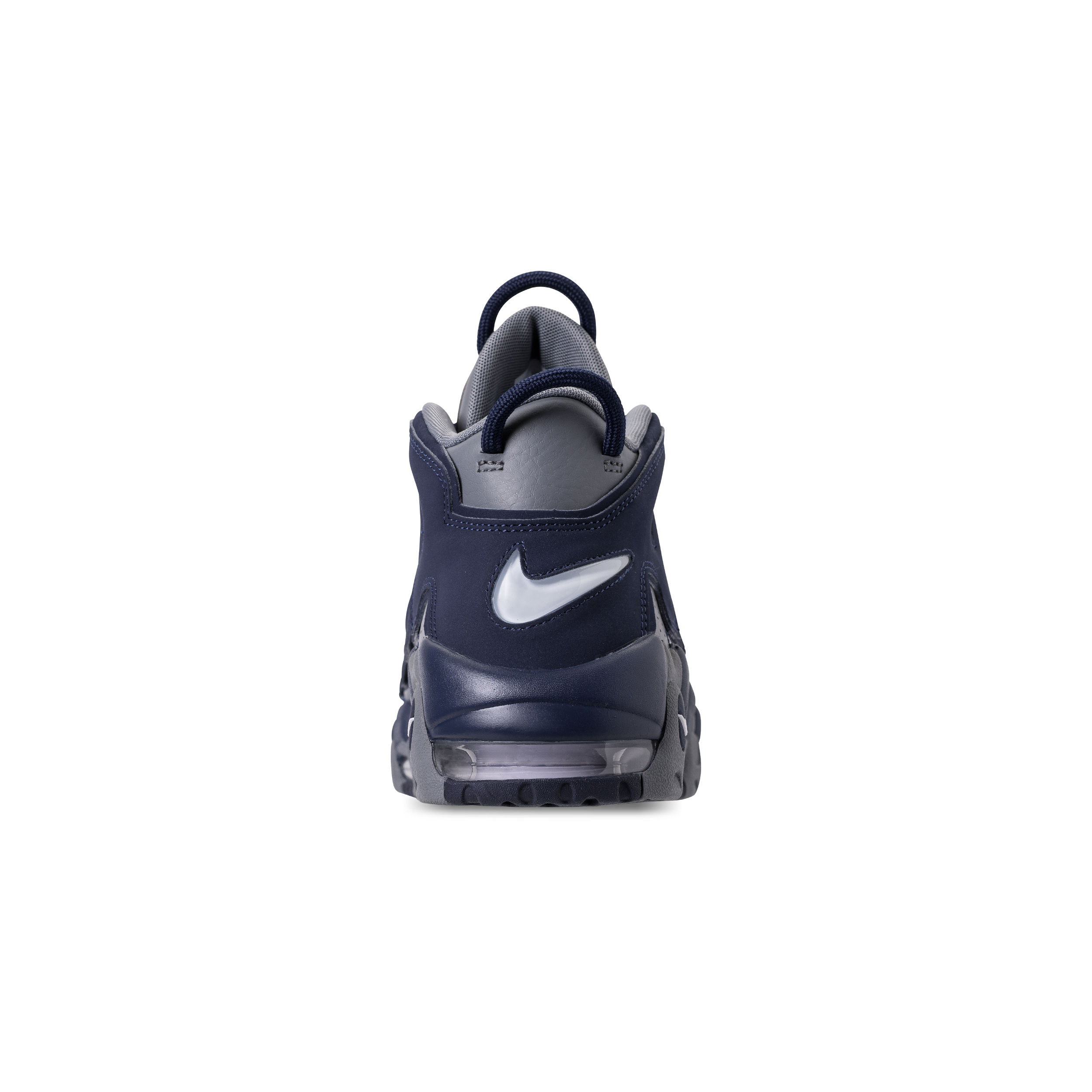 NIKE AIR MORE UPTEMPO '96 COOL GREY:WHITE-MIDNIGHT NAVY 3