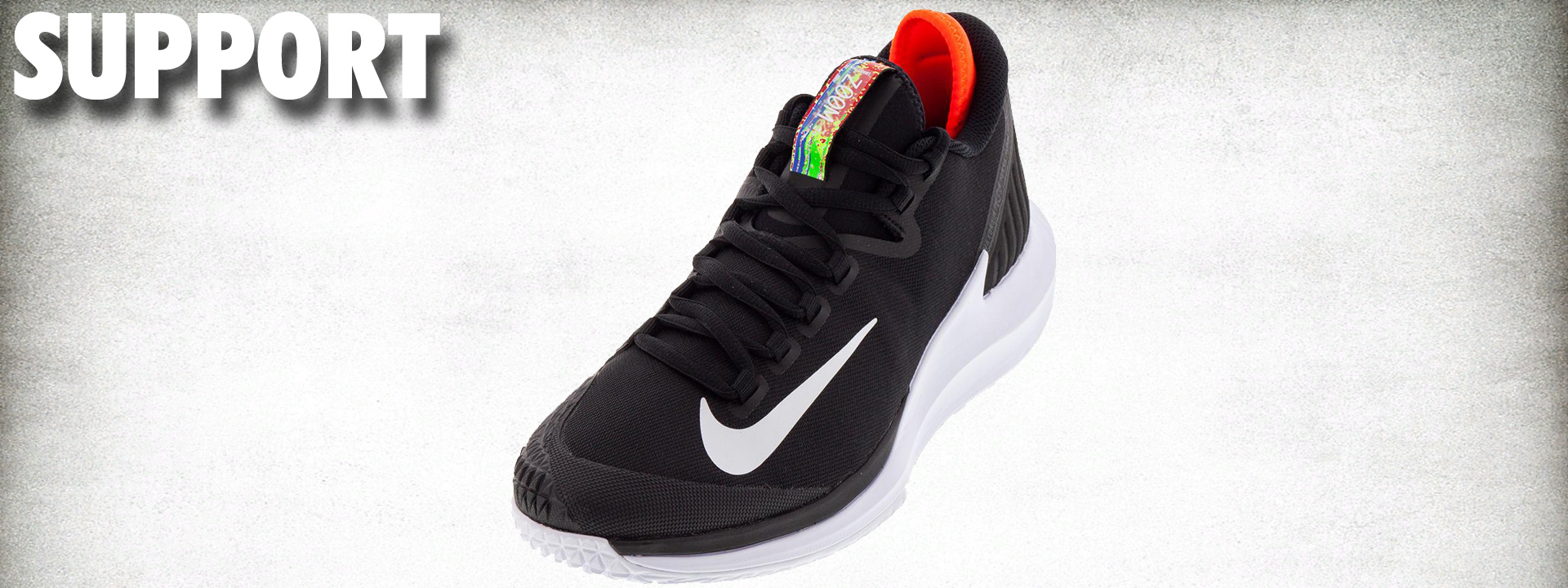 Nike Court Air Zoom Zero HC Performance Review support