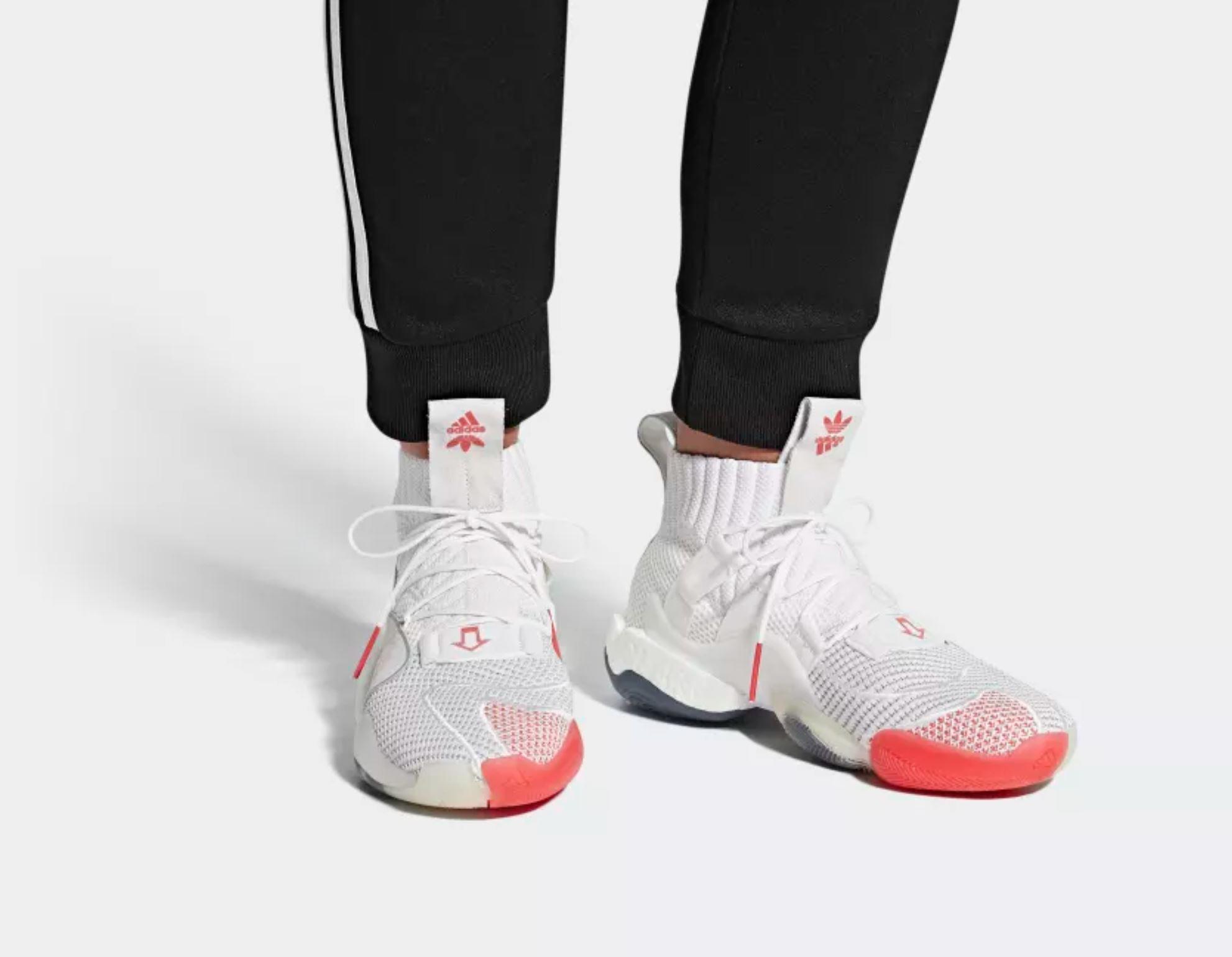 adidas crazy byw X daniel arsham on foot