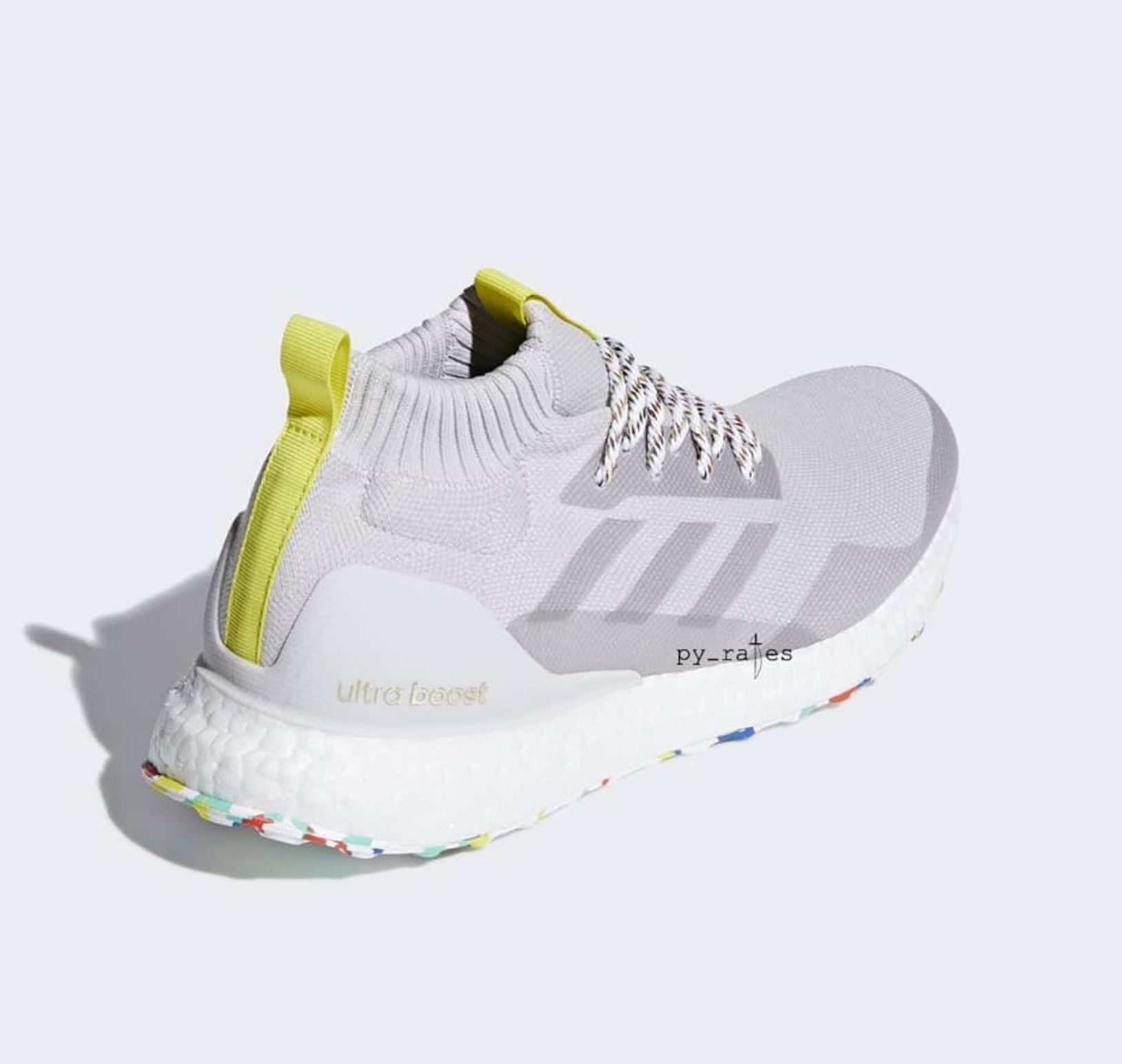 adidas ultra boost mid multicolor white