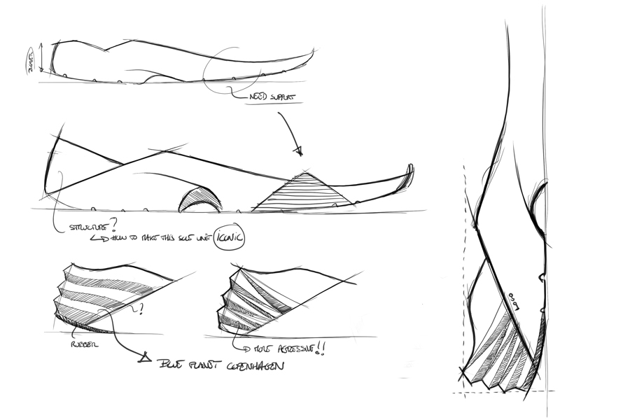 arkk copenhagen wave13 sole unit design sketch