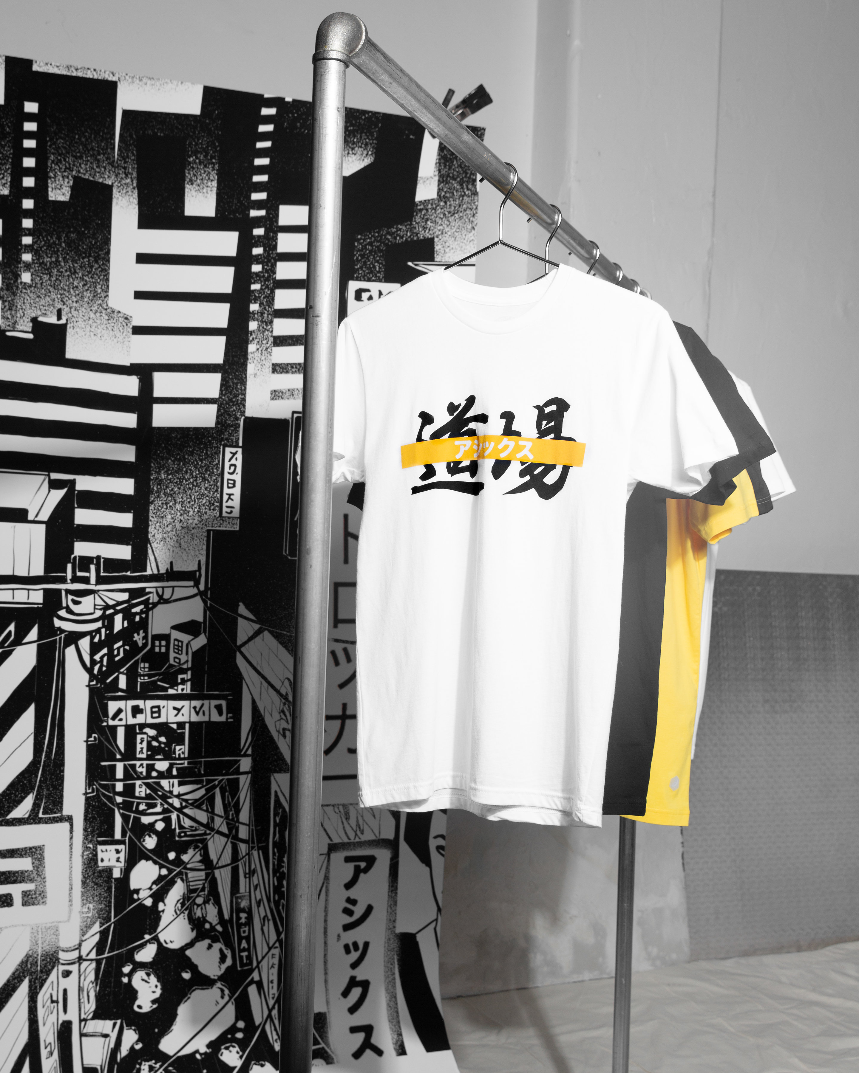 foot locker asics welcome to the dogo apparel tee