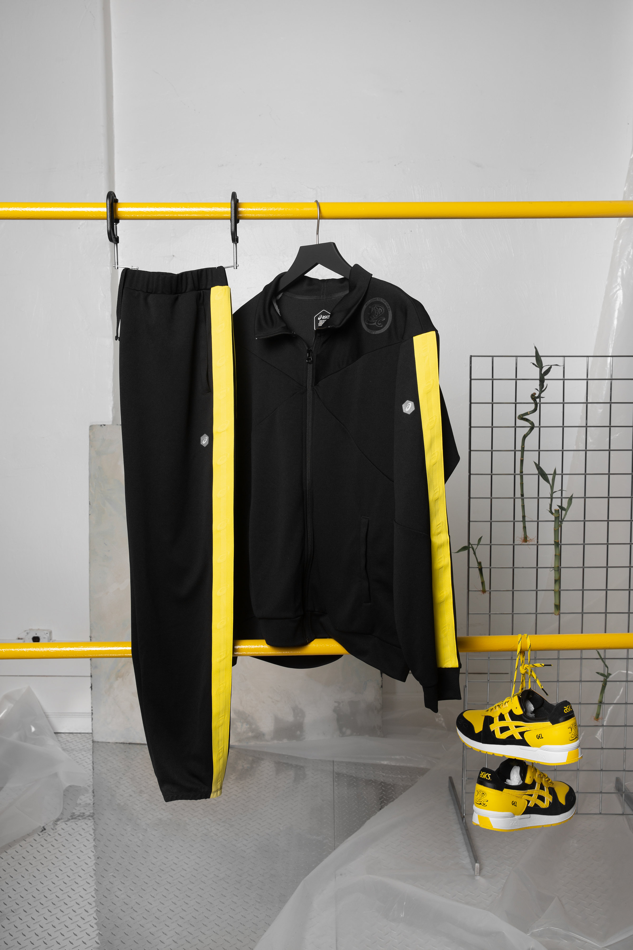 foot locker asics welcome to the dojo track suit