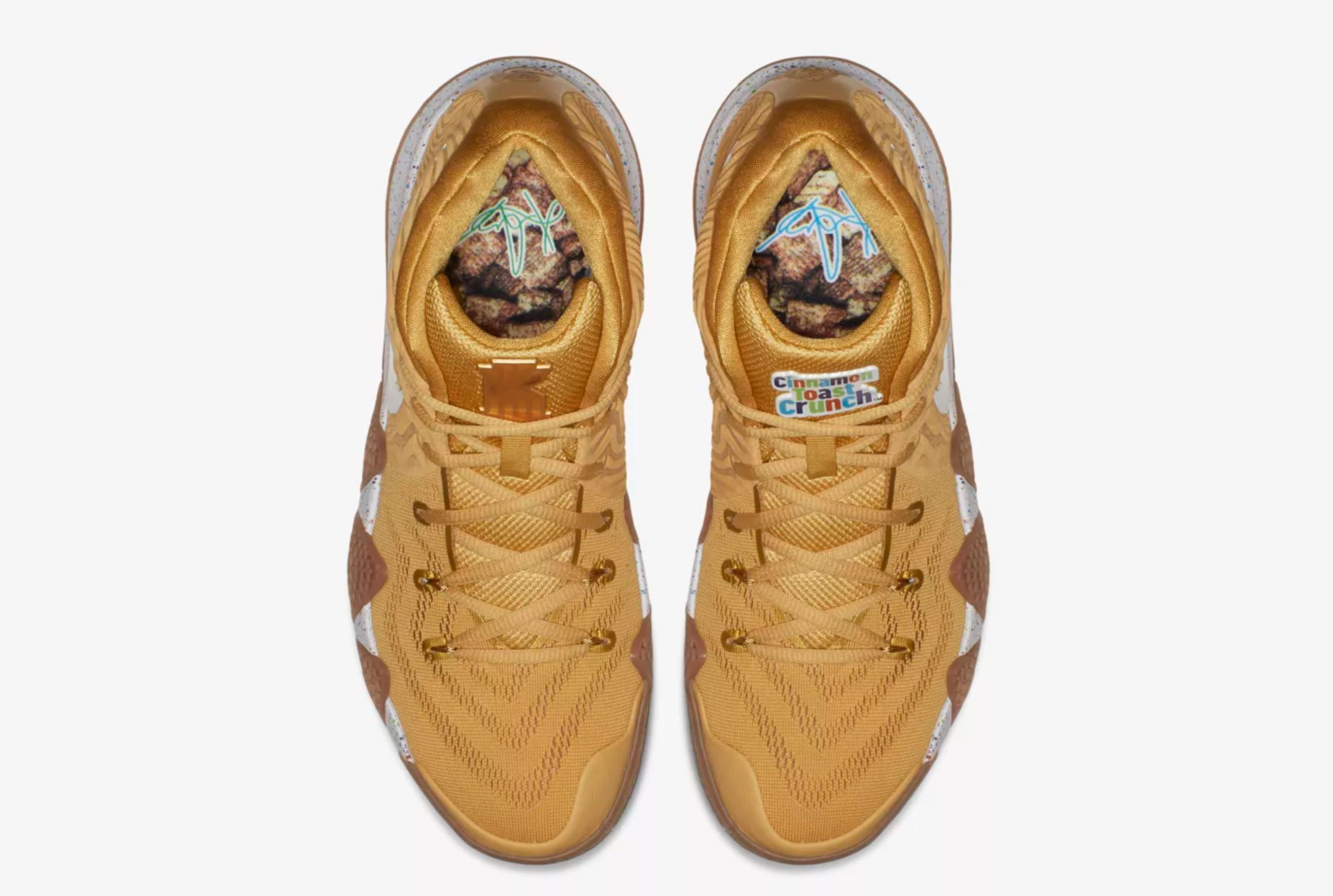 the latest ee603 abe19 nike kyrie 4 cinnamon toast crunch insoles - WearTesters