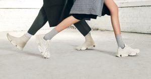 reebok sock run.r run.r 96 chalk