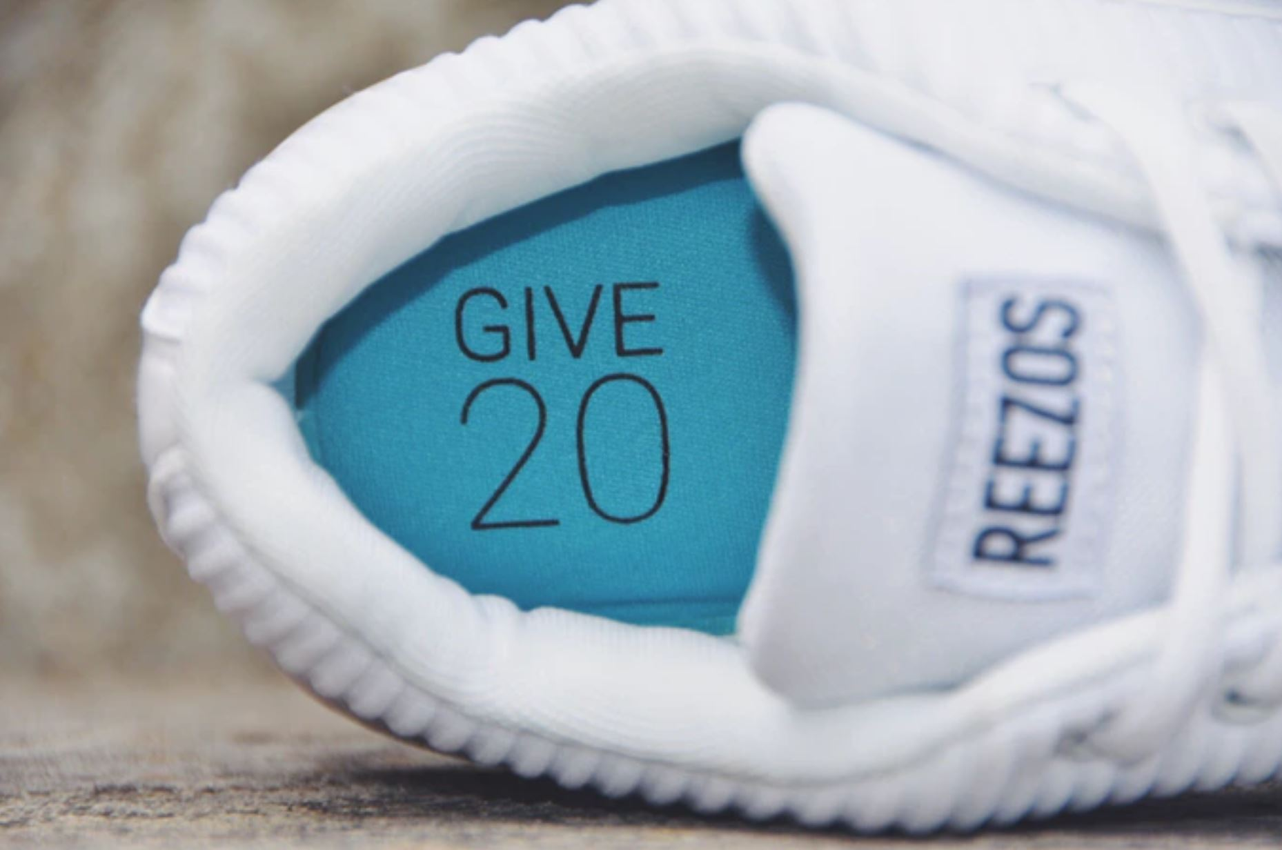 reezos one insole give 20 project
