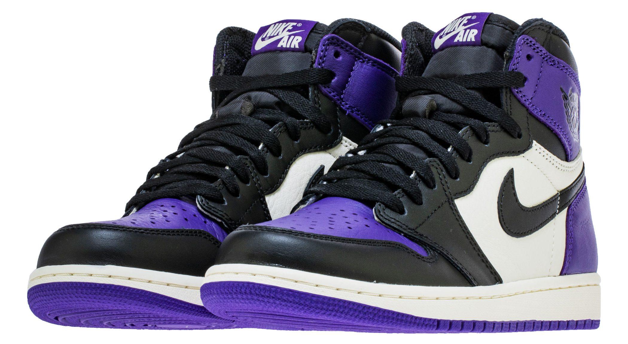 AJ1 Court Purple 1
