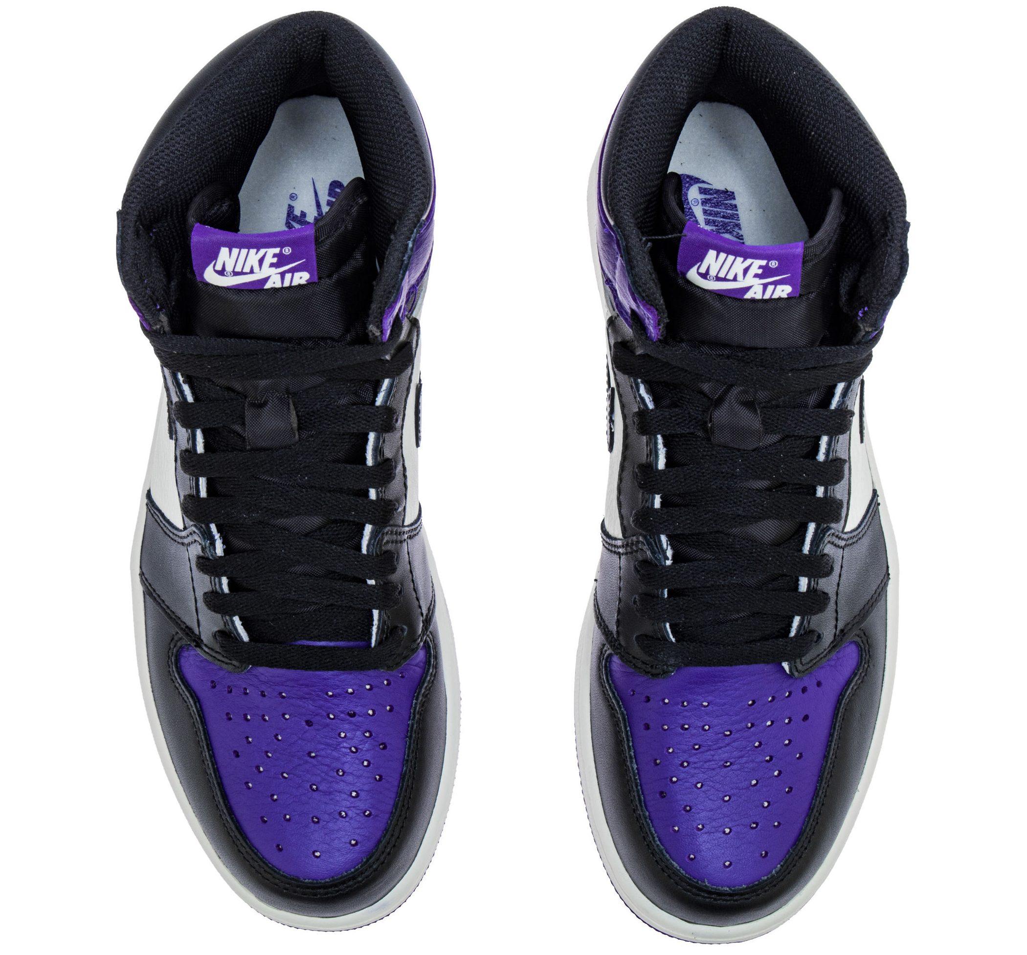 jordan 1 court purple gs