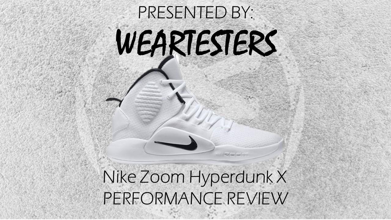 Hyperdunk X open - WearTesters