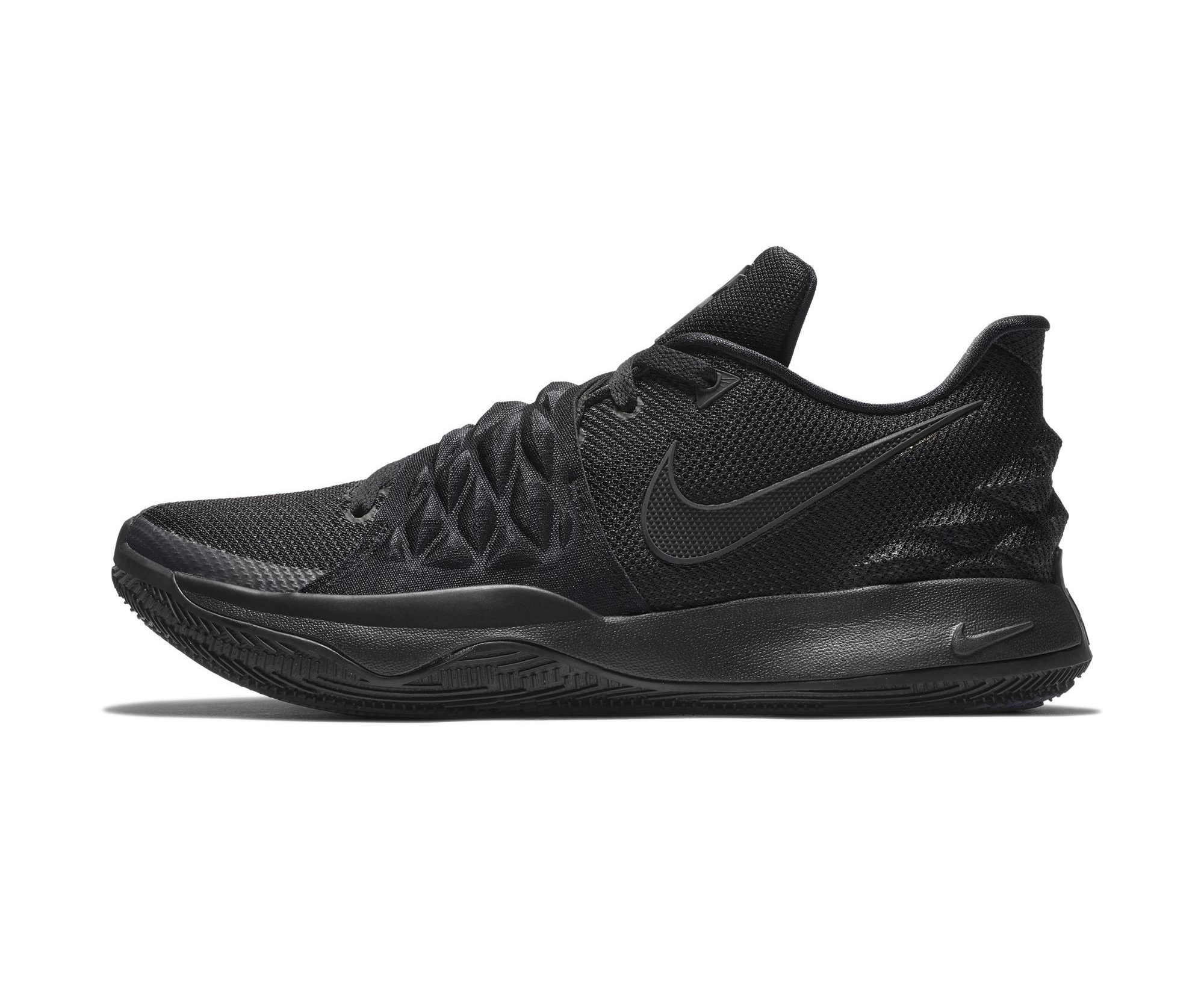 NIKE KYRIE LOW BLACK:BLACK 3
