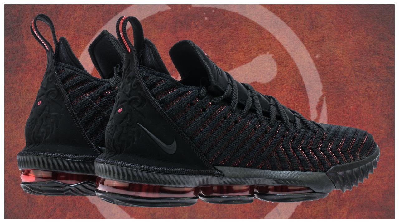 The Nike LeBron 16 'Fresh Bred' is