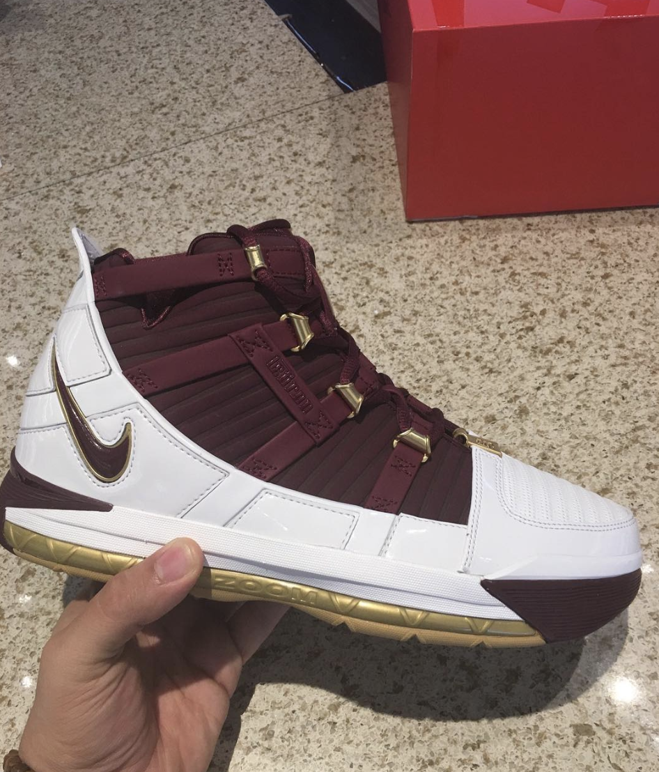 Nike Zoom LeBron 3 CTK QS - WearTesters