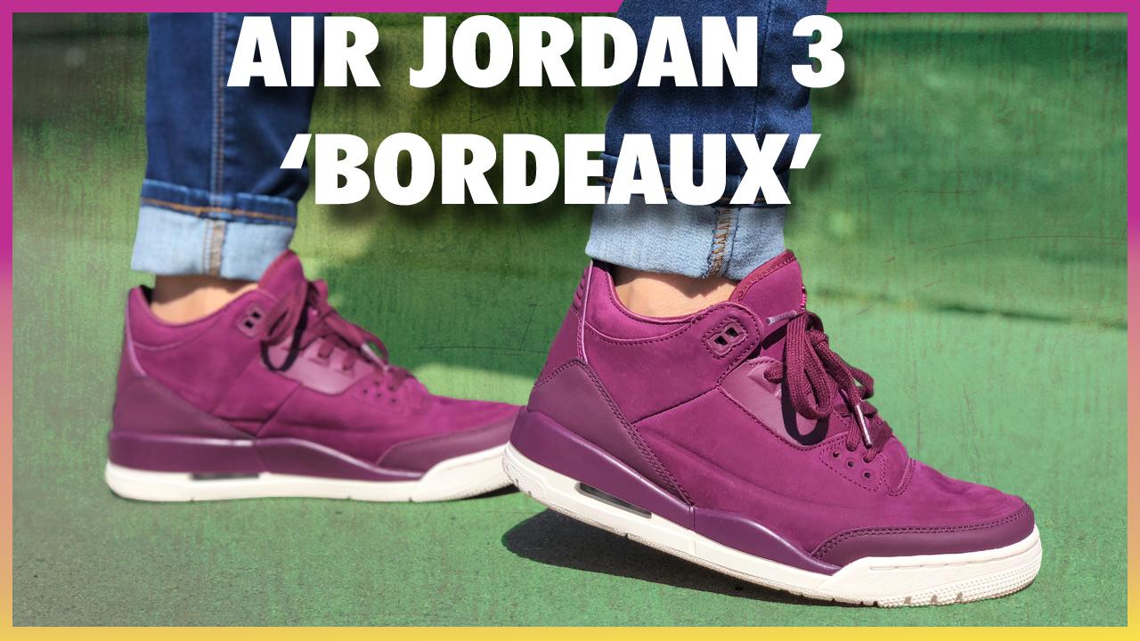 Womens-Air-Jordan-3-Bordeaux-Review