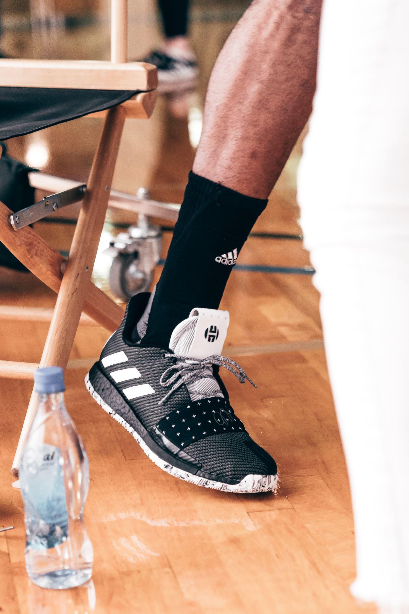adidas harden vol 3 cosmos on foot