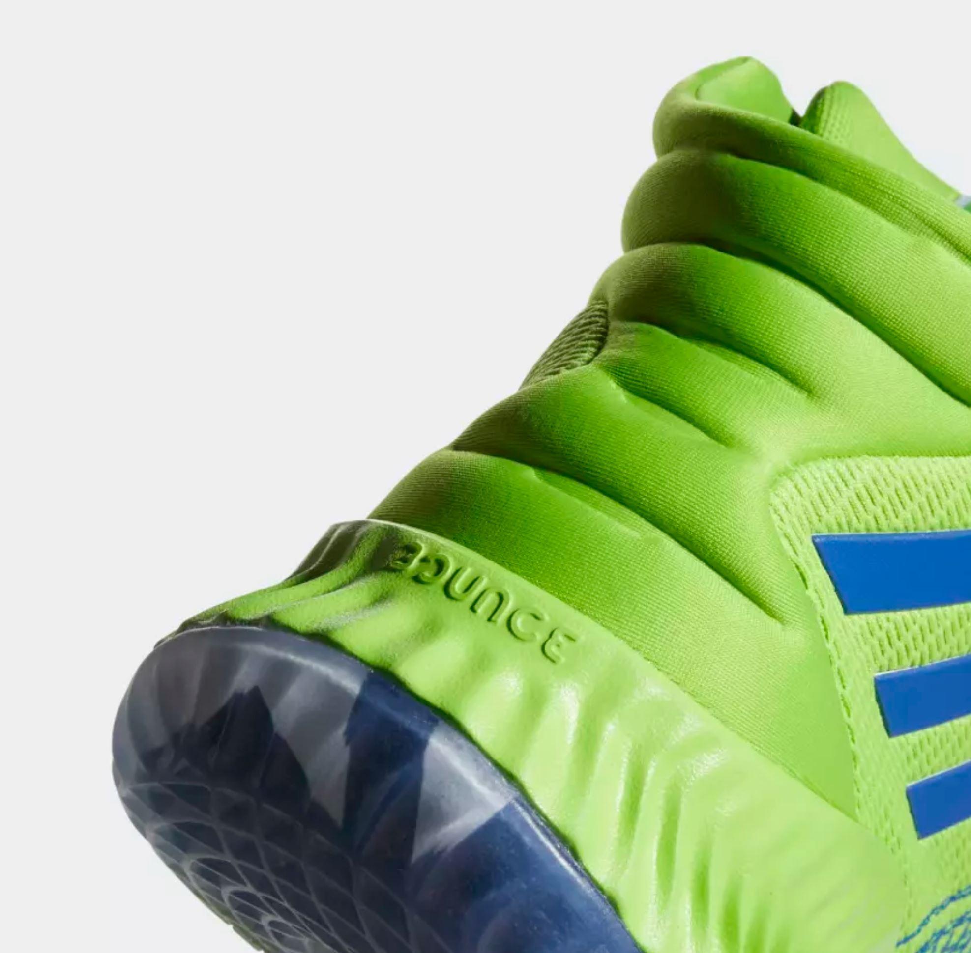 adidas pro bounce Andrew Wiggins PE heel
