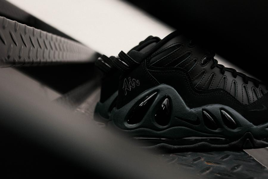 The Nike Air Max Uptempo 97 'Triple Black' Has Arrived Early