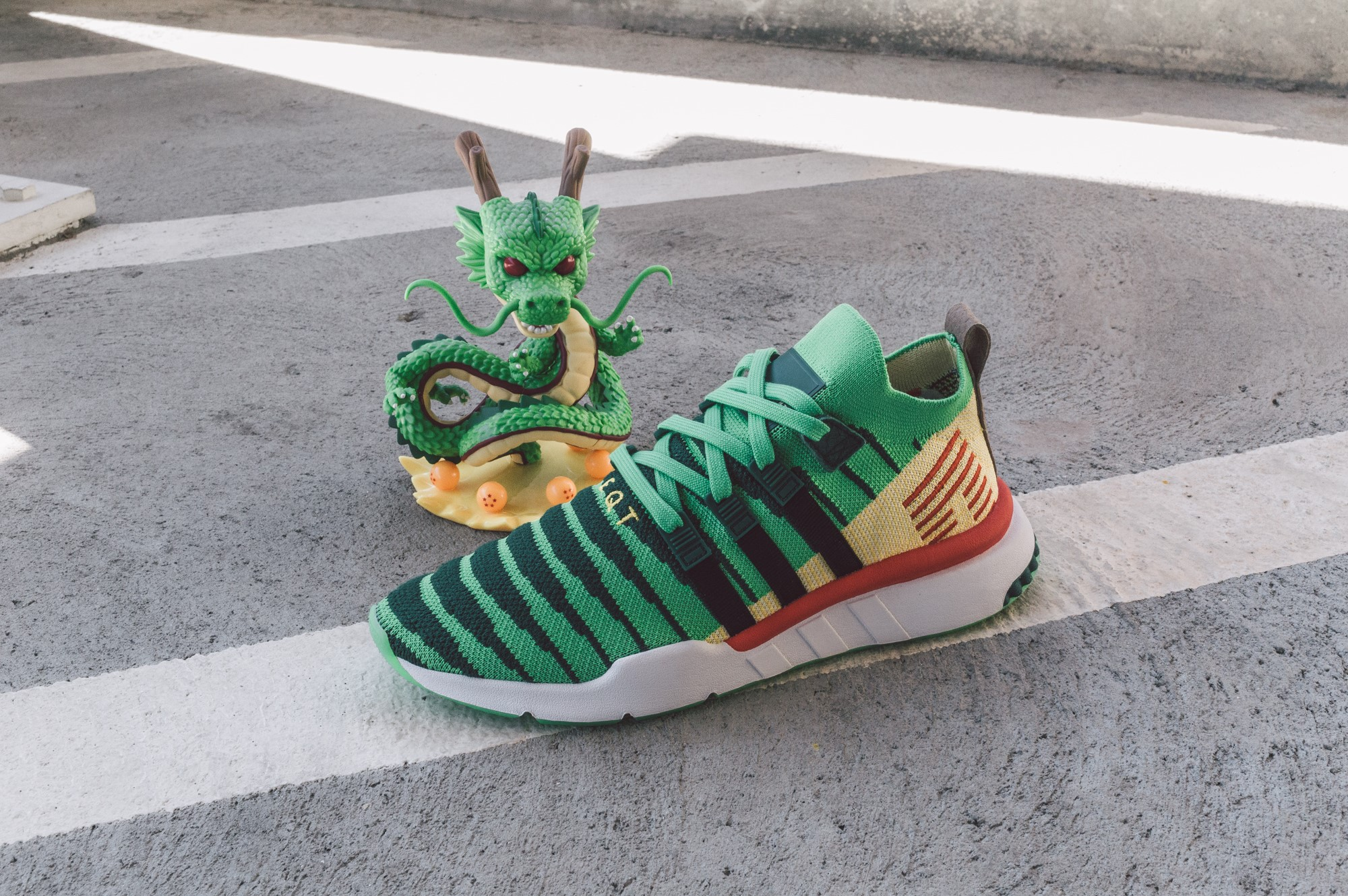 dragon ball z adidas shenron